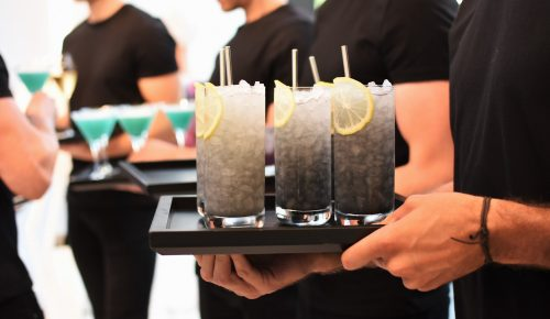 Themed party drinks